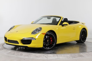 2015 PORSCHE 911 CARRERA S CABRIOLET Cabriolet in Fort Lauderdale, FL at Ferrari of Fort Lauderdale
