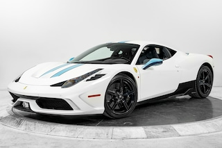 2015 FERRARI 458 SPECIALE Coupe in Plainview, NY at Maserati of Long Island