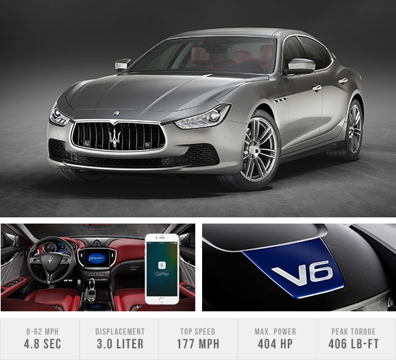 2017 Maserati Ghibli S Q4 lease at Maserati of Long Island