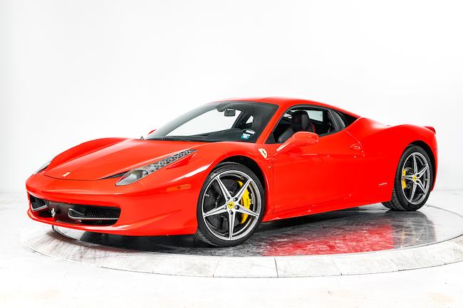 2015 FERRARI 458 ITALIA Coupe for sale in Fort Lauderdale, FL at Ferrari of Fort Lauderdale