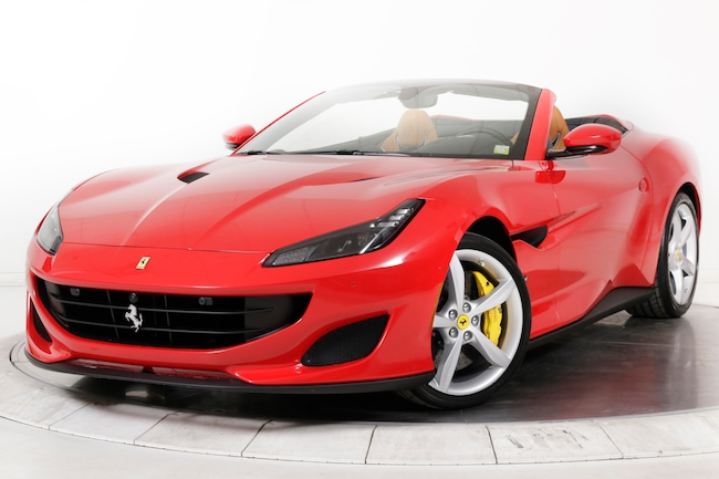 2019 FERRARI PORTOFINO Convertible for sale in Plainview, NY at Maserati of Long Island