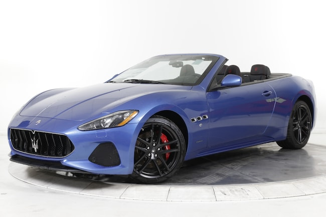2019 MASERATI GT CONVERTIBLE SPORT Convertible for sale in Plainview, NY at Maserati of Long Island