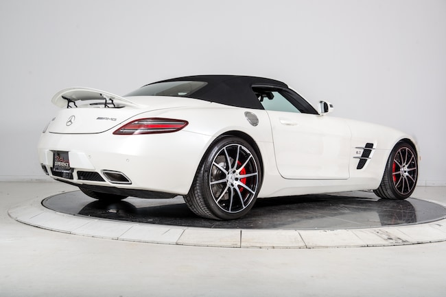 Used 2012 mercedes benz sls amg roadster for sale for Pre owned mercedes benz ny
