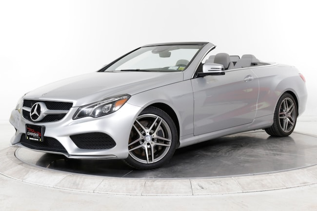 2014 MERCEDES-BENZ E550 CABRIOLET Convertible for sale in Plainview, NY at Maserati of Long Island