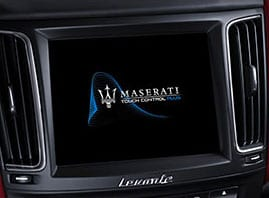 Maserati Touch Control 8.4 touchscreen