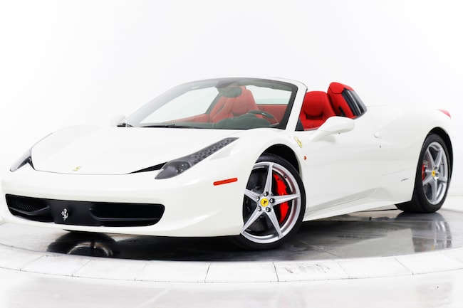 2014 FERRARI 458 SPIDER Convertible for sale in Fort Lauderdale, FL at Maserati of Fort Lauderdale