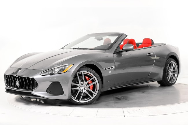 2018 MASERATI GT SPORT Convertible for sale in Plainview, NY at Maserati of Long Island