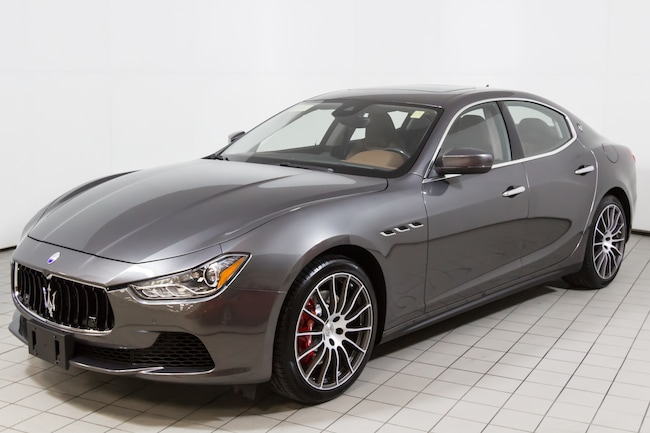 2017 Maserati Ghibli S Q4 Sedan For Sale in Norwood, MA