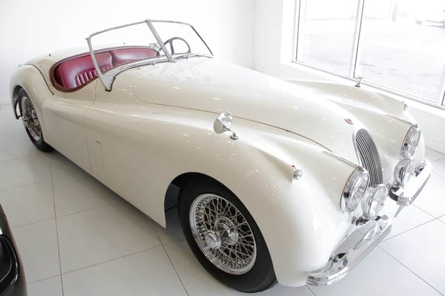 1952 Jaguar XK 120 Convertible