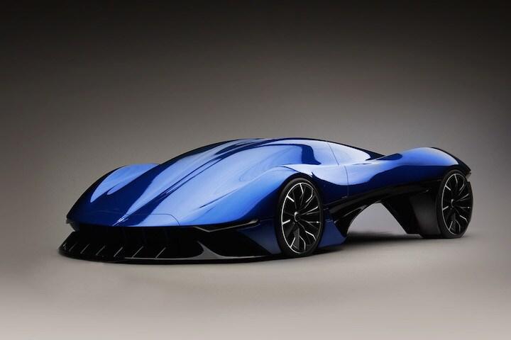 Gorgeous Hybrid Hypercar Concept Maserati Tipo Ernesto