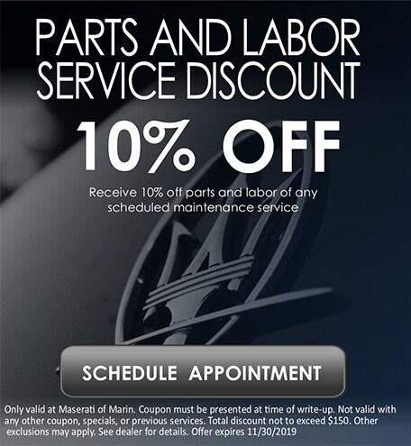 Parts & Labor Service Discount