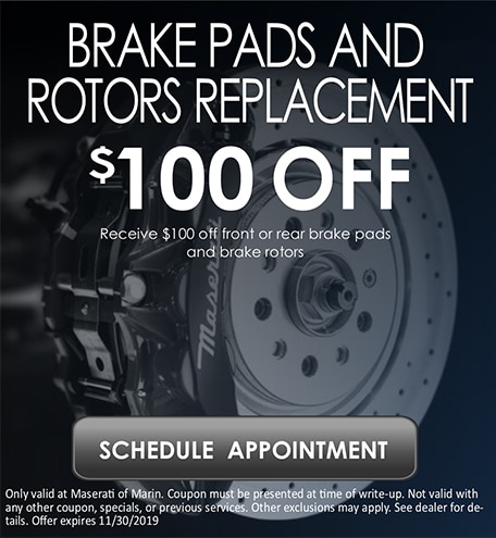 Brake Pads & Rotors Replacement
