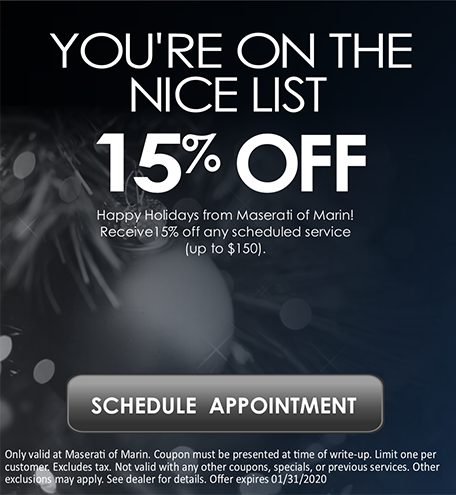 Receive 15% off any scheduled service