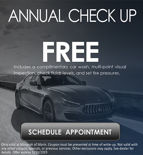 Free Annual Check Up