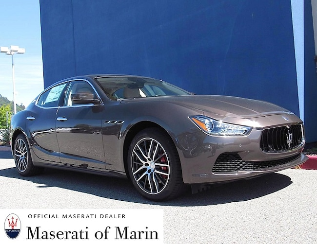 Certified Used 2017 Maserati Ghibli Sedan for sale in San Rafael near Marin and the Bay Area