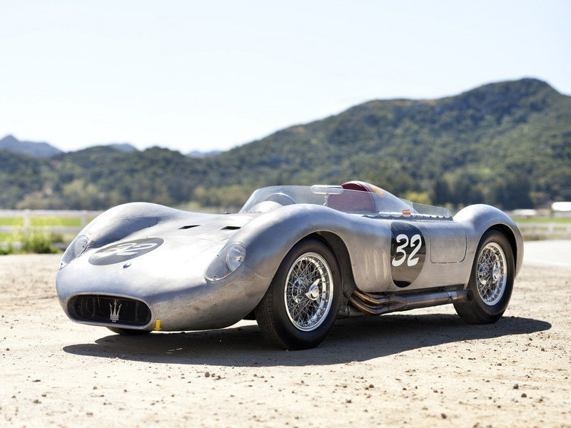 1956 maserati 200 si for Garage jean behra