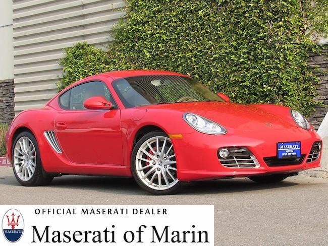 Used 2010 Porsche Cayman S Coupe for sale near Marin and the Bay Area