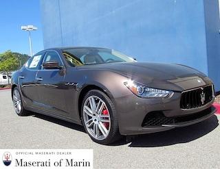 Certified 2017 Maserati Ghibli S Sedan in Marin, CA