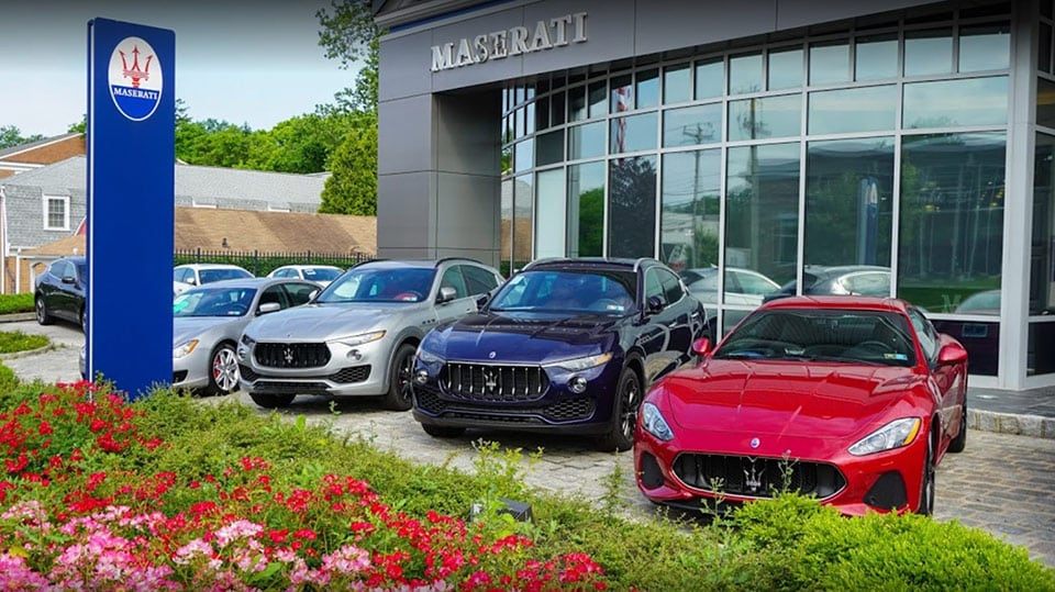 Maserati Dealer in Chadds Ford Township