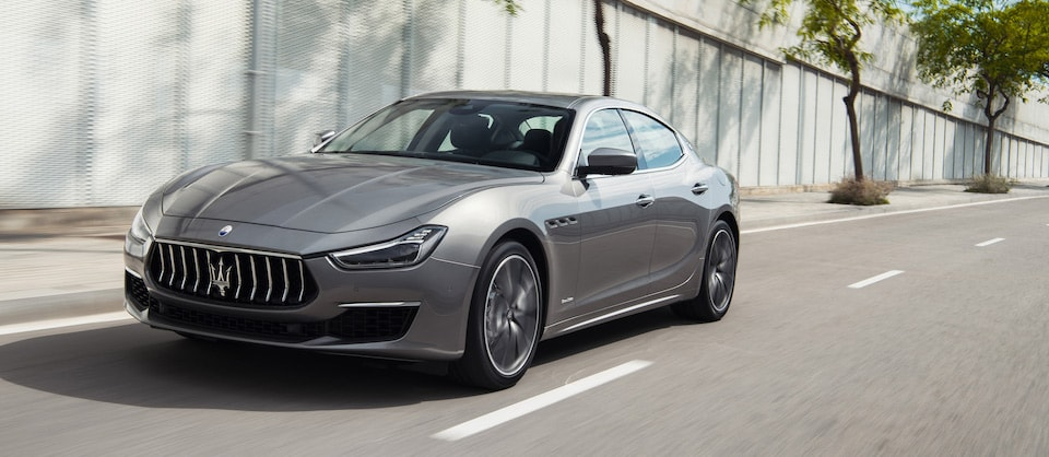 New Maserati Ghibli Driving