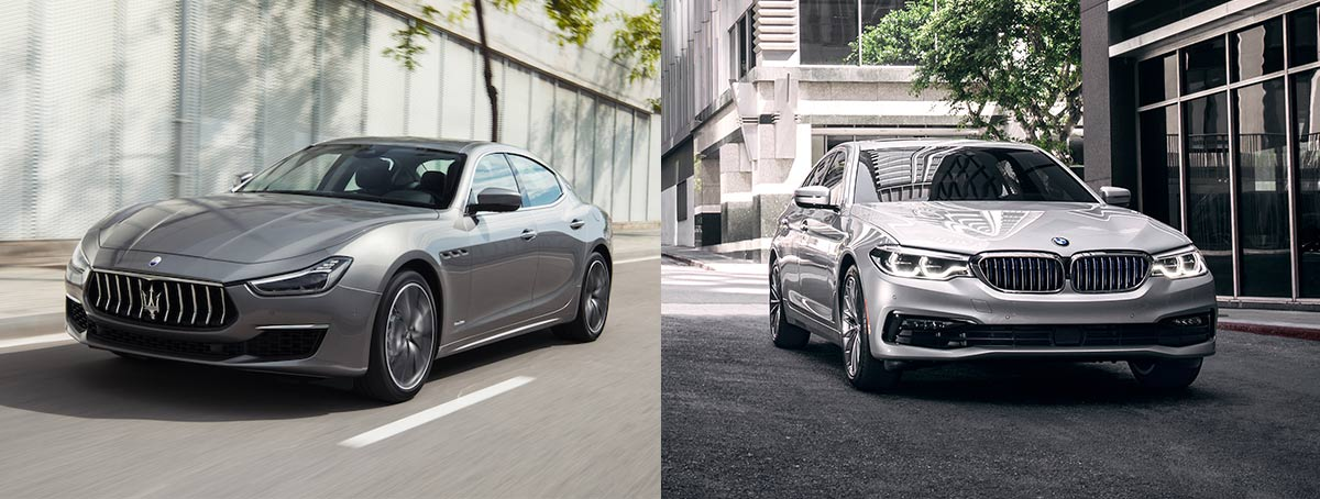 Maserati Ghibli vs. BMW 5-Series