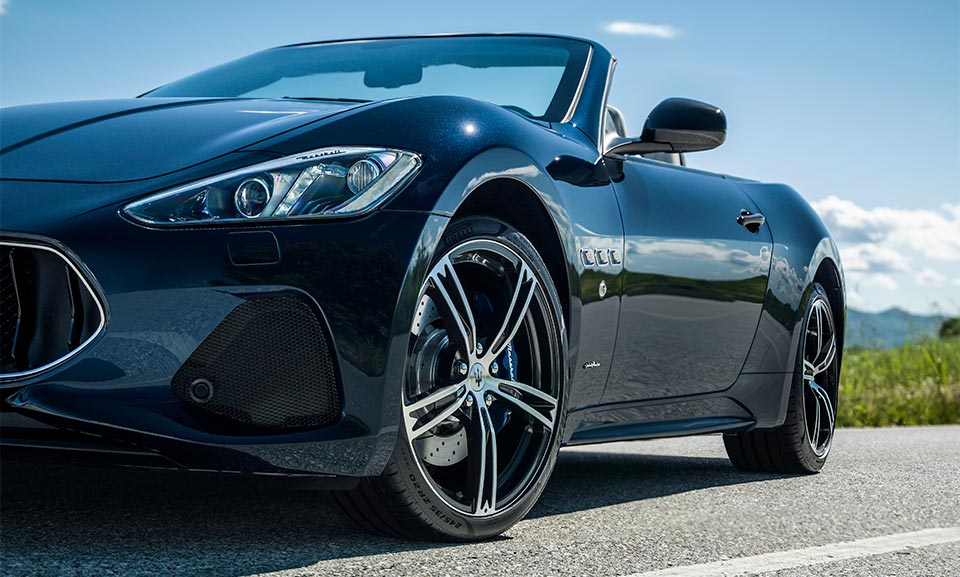 Maserati Wheel and Tire Protection