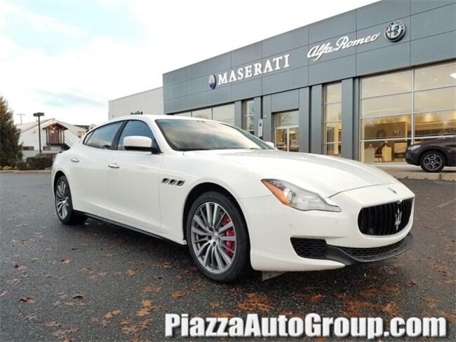 2016 Maserati Quattroporte S Sedan