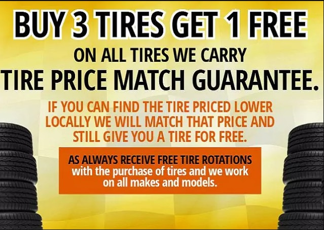 Tire Center Mason City Motor Company