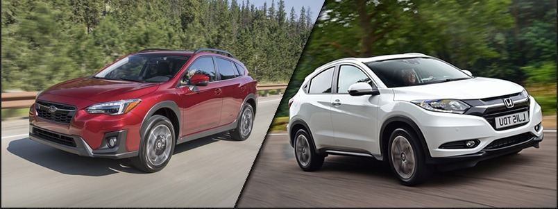 2018 Subaru Crosstrek vs 2018 Honda HR-V near Orlando