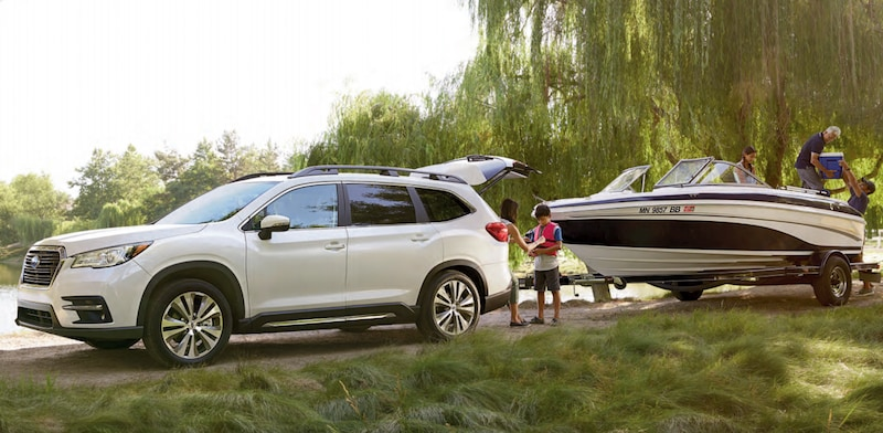 Subaru Ascent towing