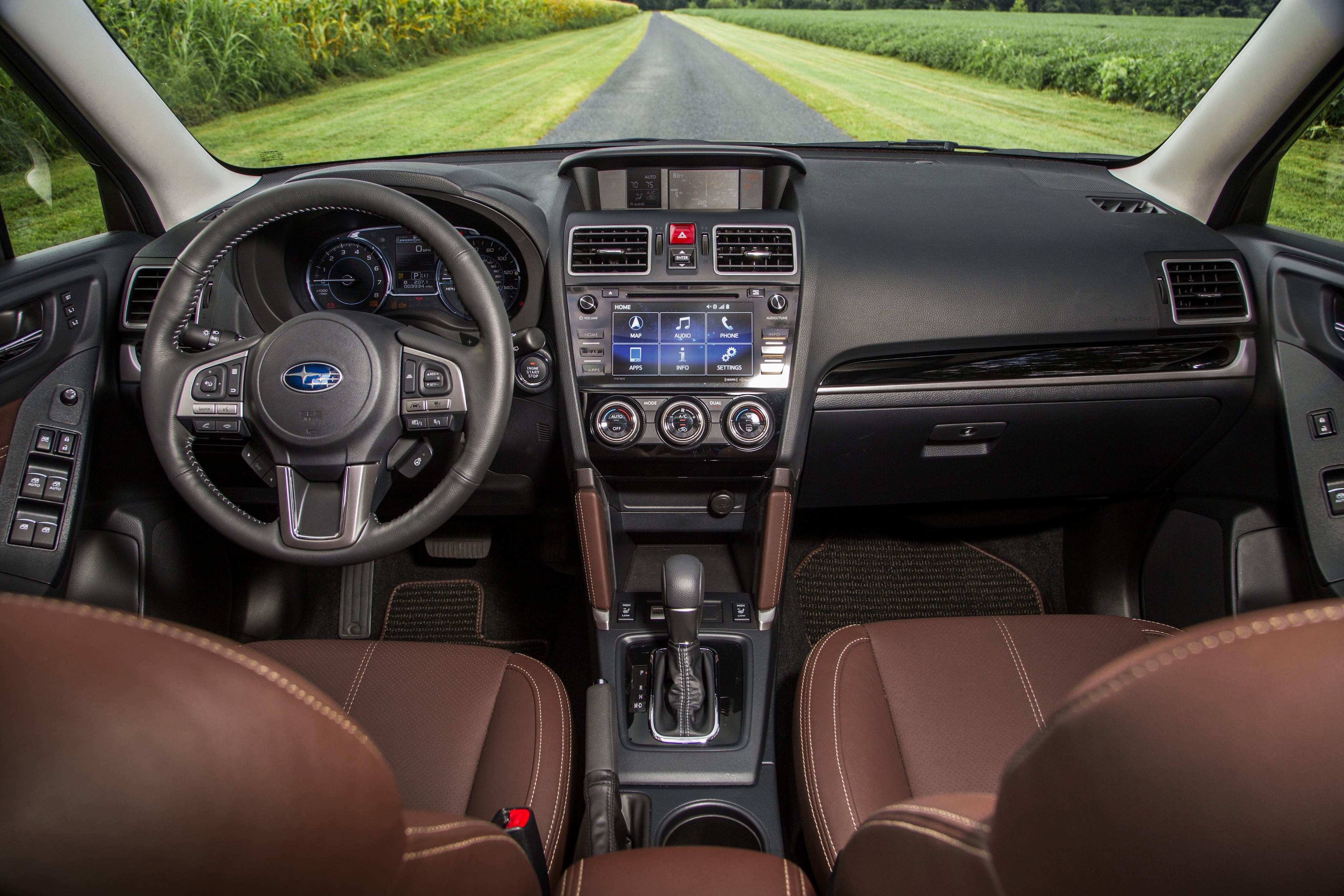 interior upgrades in the 2017 Subaru Forester near Orlando