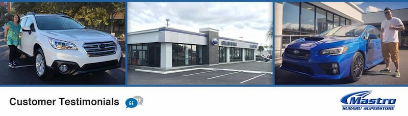 Mastro Subaru of Orlando reviews