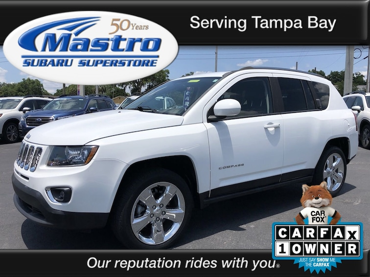 2014 Jeep Compass Limited 4x4 SUV