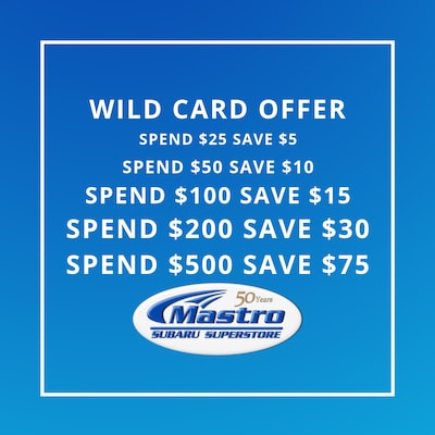 Wild Card Service Special!