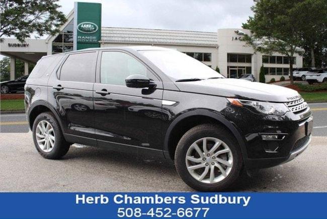 Certified Pre-Owned 2019 Land Rover Discovery Sport Landmark SUV Sudbury MA