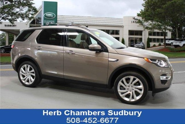 Certified Pre-Owned 2016 Land Rover Discovery Sport HSE LUX SUV Sudbury MA