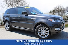 Certified Pre-Owned 2016 Land Rover Range Rover Sport V6 Diesel HSE SUV Sudbury MA
