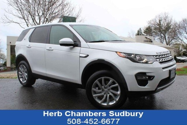 Certified Pre-Owned 2016 Land Rover Discovery Sport HSE SUV Sudbury MA