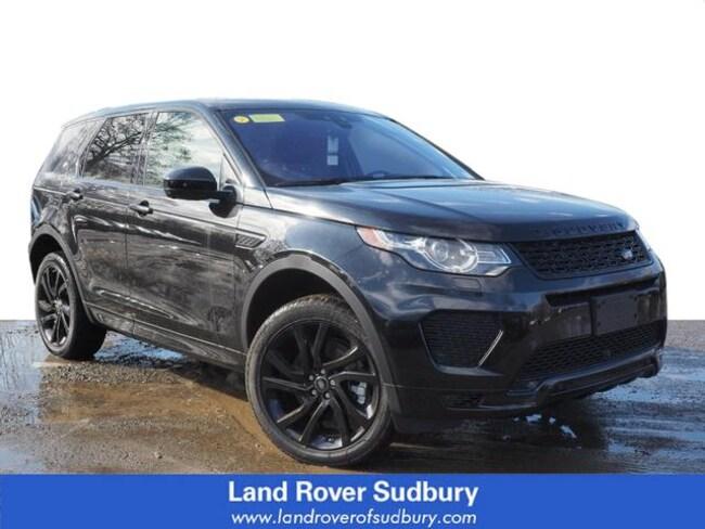 New 2019 Land Rover Discovery Sport HSE Dynamic SUV Sudbury MA