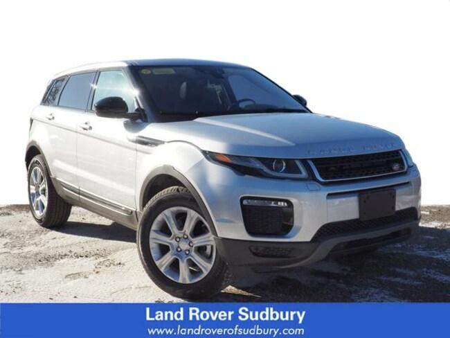 New 2018 Land Rover Range Rover Evoque SE Premium SUV Sudbury MA