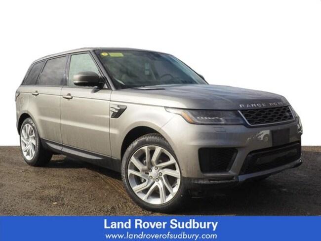 New 2019 Land Rover Range Rover Sport HSE SUV Sudbury MA