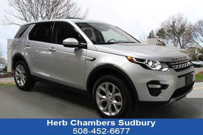 Certified Pre-Owned 2019 Land Rover Discovery Sport HSE SUV Sudbury MA