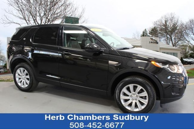 Certified Pre-Owned 2016 Land Rover Discovery Sport SE SUV Sudbury MA