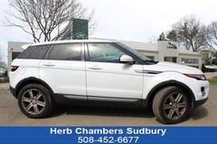 Used 2015 Land Rover Range Rover Evoque Pure Plus SUV Sudbury MA