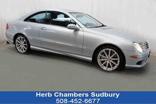 Used 2005 Mercedes-Benz CLK-Class 5.0L Coupe T5F128149 near Boston, MA