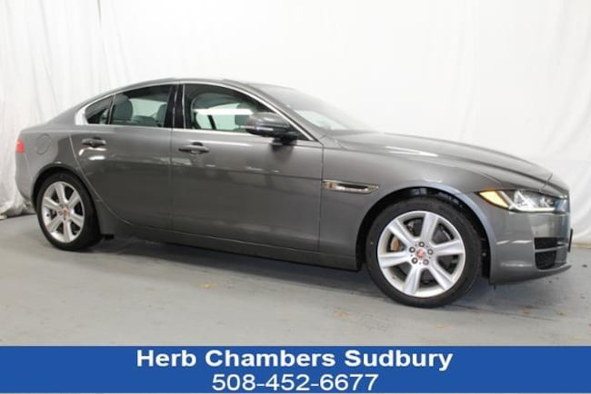 Certified Pre-Owned 2018 Jaguar XE 25t Prestige Sedan Sudbury MA