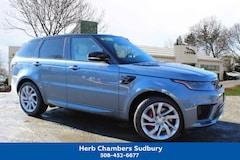 New 2019 Land Rover Range Rover Sport Supercharged Dynamic SUV Sudbury MA