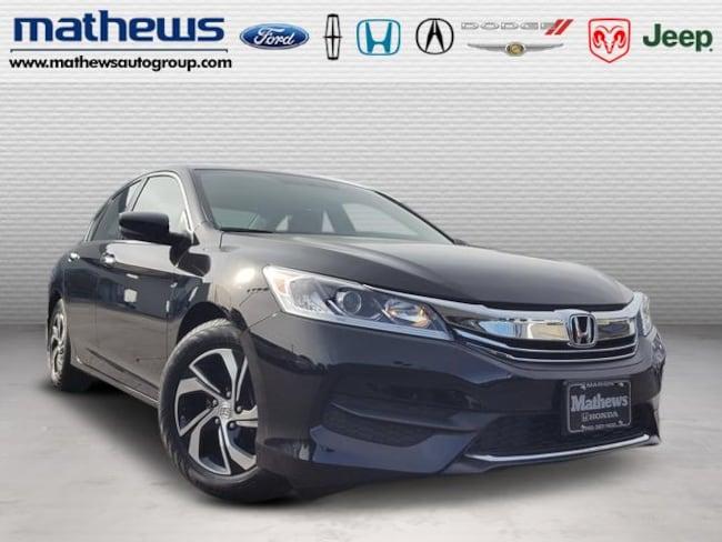 2016 Honda Accord Sedan I4 CVT LX PZEV Sedan