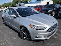2018 Ford Fusion S Mid-Size Car