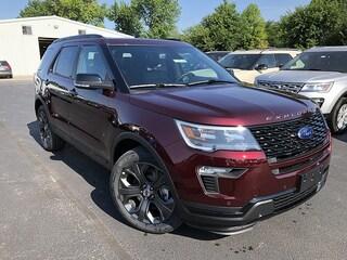 2018 Ford Explorer Sport Full Size SUV